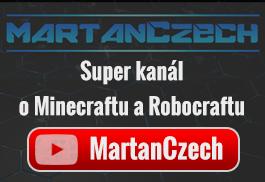 MartanCzech - YouTube kanál o Minecraftu a Robocraftu